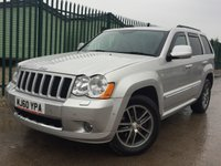 USED 2010 60 JEEP GRAND CHEROKEE 3.0 S LIMITED CRD V6 5d AUTO 215 BHP SATNAV LEATHER SERVICE HISTORY NO FINANCE REPAYMENTS FOR 2 MONTHS STC. 4WD. SATELLITE NAVIGATION. STUNNING SILVER MET WITH PART BLACK LEATHER TRIM. ELECTRIC HEATED MEMORY SEATS. CRUISE CONTROL. 18 INCH ALLOYS. COLOUR CODED TRIMS. PARKING SENSORS. REVERSING CAMERA. BLUETOOTH PREP. CLIMATE CONTROL. R/CD PLAYER. MFSW. TOWBAR. MOT 10/18. SERVICE HISTORY. FCA FINANCE APPROVED DEALER. TEL 01937 849492