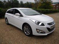 USED 2015 15 HYUNDAI I40 1.7 CRDI STYLE 5d AUTO 138 BHP Sat Nav , High Mpg , Hyundai Warranty , Bluetooth