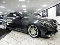 USED 2013 63 MERCEDES-BENZ E CLASS 3.0 E350 BLUETEC AMG SPORT PAN ROOF 19'S FSH CAM LED LGTS