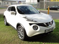 USED 2016 65 NISSAN JUKE 1.5 TEKNA DCI 5d 110 BHP ANY PART EXCHANGE WELCOME, COUNTRY WIDE DELIVERY ARRANGED, HUGE SPEC