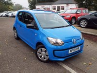 USED 2015 15 VOLKSWAGEN UP 1.0 TAKE UP 3d 59 BHP One Owner With Volkswagen Service History