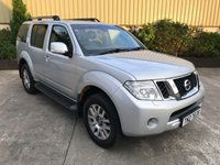 USED 2014 NISSAN PATHFINDER 2.5 DCI TEKNA 5d 188 BHP LEATHER, SAT NAV, REVERSE CAM, 7 SEATER, CLIMATE CONTROL, 6 SPEED
