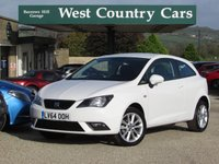 USED 2014 64 SEAT IBIZA 1.4 TOCA 3d 85 BHP Low Running Costs, High Specification
