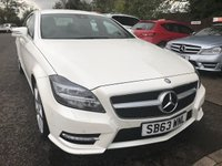 USED 2014 63 MERCEDES-BENZ CLS CLASS 2.1 CLS250 CDI BLUEEFFICIENCY AMG SPORT 4d 204 BHP