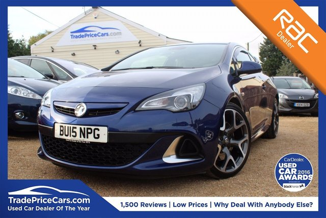View our 2015 C VAUXHALL ASTRA 2.0 VXR 3d 276 BHP