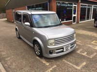 2015 NISSAN CUBE 1.4 4 DOOR AUTOMATIC 1.4 PETROL IN SILVER £2990.00
