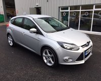 USED 2014 64 FORD FOCUS 1.6 TDCI TITANIUM NAVIGATOR 115 BHP THIS VEHICLE IS AT SITE 1 - TO VIEW CALL US ON 01903 892224