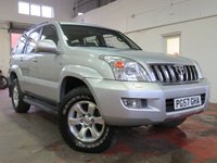 USED 2008 57 TOYOTA LAND CRUISER 3.0 D-4D LC4 8 STR 5d 171 BHP LOADS OF SPEC + MUST BE SEEN!!