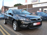 USED 2010 59 FORD FOCUS 1.6 ZETEC TDCI 5d  £30 TAX ~ FULL SERVICE HISTORY ~ AIRCON ~ ALLOYS ~ REAR PARK SENSORS ~ HEATED FRONT SCREEN