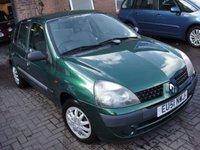 2001 RENAULT CLIO 1.1 AUTHENTIQUE 8V 5d 58 BHP £580.00