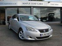 2006 LEXUS IS 2.5 250 4d AUTO 204 BHP £3295.00
