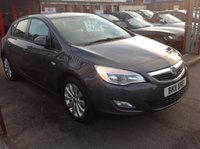 USED 2011 11 VAUXHALL ASTRA 1.4 EXCLUSIV 5d 98 BHP Sorry I've being sold please ring we may have another,