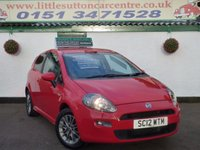 USED 2012 12 FIAT PUNTO 1.4 GBT 3d 77 BHP 49,000 MILES, SERVICE HISTORY, ONE PRIVATE OWNER