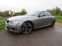 USED 2011 11 BMW 3 SERIES 2.0 320D M SPORT 2d 181 BHP F/S/H Hard top convertable
