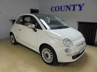 USED 2010 60 FIAT 500 1.2 LOUNGE 3d 69 BHP * GREAT SPEC WITH HISTORY *