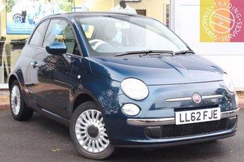 2012 FIAT 500 1.2 LOUNGE 3d 69 BHP £5295.00