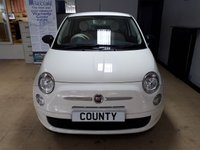 USED 2013 63 FIAT 500 1.2 POP 3d 69 BHP * LOW MILES * LONG MOT *