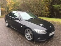 USED 2010 60 BMW 3 SERIES 2.0 320D M SPORT 2d 181 BHP 6 MONTHS PARTS+ LABOUR WARRANTY+AA COVER