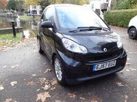USED 2007 57 SMART FORTWO 1.0 PASSION 2d 70 BHP