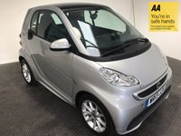 USED 2013 13 SMART FORTWO 1.0 PASSION MHD 2d AUTO 71 BHP FSH-NAV-BLUETOOTH-A/C