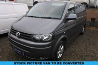 USED 2013 63 VOLKSWAGEN TRANSPORTER 2.0 VW T28 TDI TRENDLINE101 BHP  - EVERY CONVERTED CAMPERVAN COMES WITH OUR 3 YEAR MECHANICAL AND INTERIOR WARRANTY