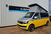 USED 2016 16 VOLKSWAGEN TRANSPORTER 2.0 T26 TDI VW  - EVERY CONVERTED CAMPERVAN COMES WITH OUR 3 YEAR MECHANICAL AND INTERIOR WARRANTY