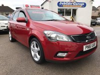 USED 2011 61 KIA CEED 1.6 CRDI 3 SW 5d 114 BHP Two keepers, Full history, Bluetooth, Cruise control.