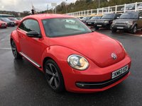 USED 2013 63 VOLKSWAGEN BEETLE 2.0 SPORT TDI DSG 3d AUTO 139 BHP Black interior & Exterior Packages, Media, DAB & Bluetooth