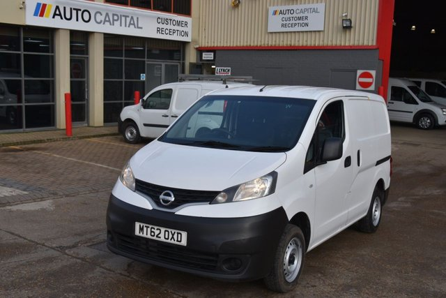 2012 62 NISSAN NV200 1.5 SE DCI 6d 90 BHP FWD SWB DIESEL PANEL MANUAL VAN ONE OWNER FULL S/H LOVELY DRIVE