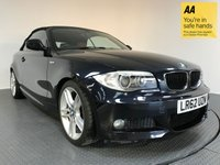 USED 2012 62 BMW 1 SERIES 2.0 120I M SPORT 2d 168 BHP FULL SERVICE HISTORY - ONE OWNER - 6 SPEED MANUAL - 18' ALLOY WHEELS - FULL RED LEATHER INTERIOR