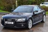 USED 2011 11 AUDI A4 2.0 TDI S LINE SPECIAL EDITION 4d 141 BHP REQUEST YOUR WHATSAPP VIDEO