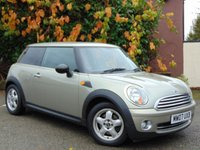 USED 2007 07 MINI HATCH ONE 1.4 ONE 3d  **IDEAL FIRST CAR**ECONOMICAL**
