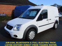 2011 FORD TRANSIT CONNECT T230 TREND LWB WITH AIR-CON & FULL HISTORY £4695.00
