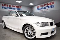 2010 BMW 1 SERIES 2.0 120D M SPORT 5d AUTO 174 BHP £8999.00