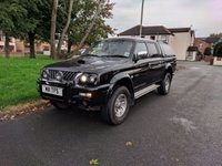 USED 2003 03 MITSUBISHI L200 2.5 TD 4WD LWB WARRIOR DCB 1d 114 BHP Private Plate Included