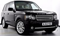 USED 2012 62 LAND ROVER RANGE ROVER 4.4 TD V8 Westminster 4x4 5dr Auto [8] Dual View TV, Hot/Cold Seats