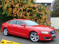 USED 2010 10 AUDI A5 2.0 SPORTBACK TFSI SE 5d  * 128 POINT AA INSPECTED *