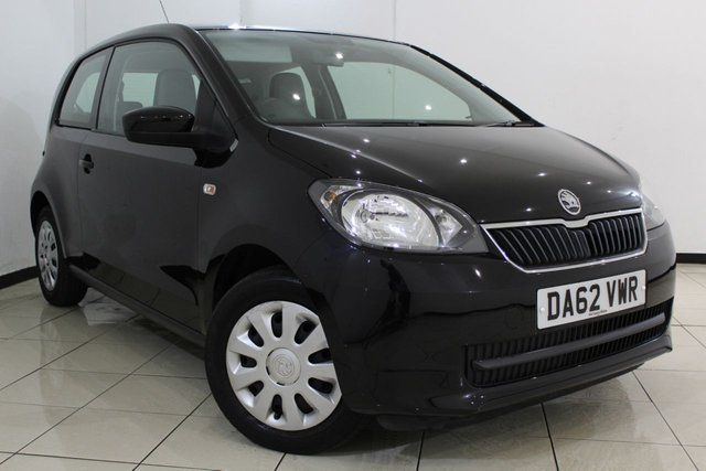 View our 2012 62 SKODA CITIGO 1.0 SE 12V 3DR 59 BHP