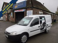 2010 VAUXHALL COMBO 2000 1.3 CDTi Direct From Thames Water With BT History £3645.00