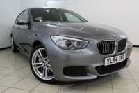 USED 2015 64 BMW 5 SERIES 2.0 520D M SPORT GRAN TURISMO 5DR AUTOMATIC 181 BHP BMW SERVICE HISTORY + HEATED LEATHER SEATS + SAT NAVIGATION PROFESSIONAL + LOW MILEAGE + REVERSE CAMERA + PANORAMIC SUNROOF + BLUETOOTH + CRUISE CONTROL + MULTI FUNCTION WHEEL + 19 INCH ALLOY WHEELS