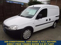 2011 VAUXHALL COMBO With Air-Con & History From Thames Water £3145.00