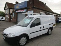 2011 VAUXHALL COMBO With Air-Con & Full History From Thames Water £4000.00