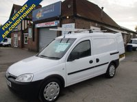 USED 2011 VAUXHALL COMBO With Air-Con & Full History From Thames Water