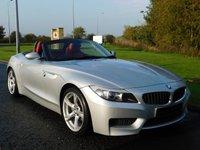 "USED 2010 10 BMW Z4 2.5 Z4 SDRIVE23I M SPORT ROADSTER 2d 201 BHP HEATED LEATHER, 18"" ALLOYS"