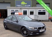USED 2014 64 BMW 3 SERIES 2.0 320D Efficient Dynamics BUSINESS 4d AUTO 161 BHP ***FULL LEATHER & SAT NAV***