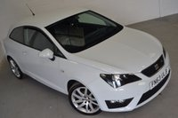 USED 2013 63 SEAT IBIZA 1.2 TSI FR 3d 104 BHP