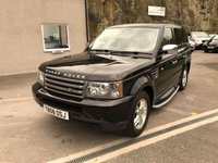 USED 2008 08 LAND ROVER RANGE ROVER SPORT 2.7 TDV6 SPORT S 5d AUTO 188 BHP NEW ENGINE FITTED AT 91499 MILES ** SERVICE HISTORY **