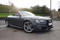 USED 2013 63 AUDI A5 2.0 TDI S LINE SPECIAL EDITION 2d AUTO 175 BHP PEARL PAINT-AIR SCALF-B&O