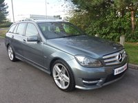 USED 2012 12 MERCEDES-BENZ C CLASS 2.1 C220 CDI BLUEEFFICIENCY SPORT 5d AUTO 168 BHP