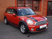 USED 2010 60 MINI CLUBMAN 1.6 D COOPER 5d ONLY 45K - S/H - 1 OWNER + CO